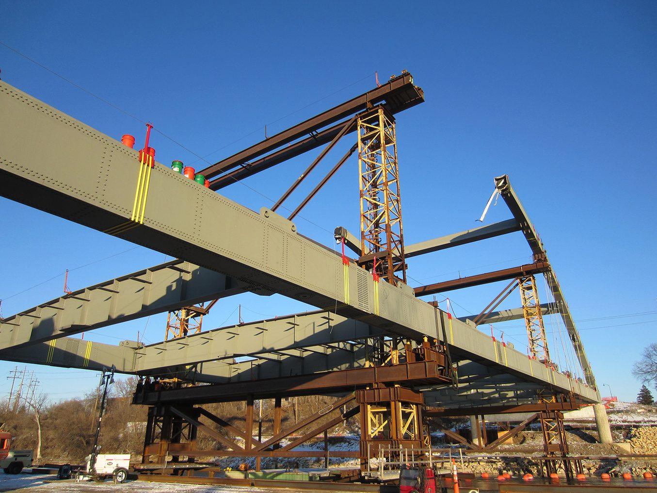 Morgan Street Bridge Over Rock River