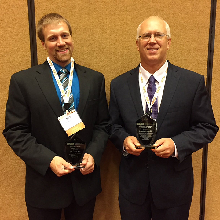 Employees honored at the ISPE Awards Ceremony
