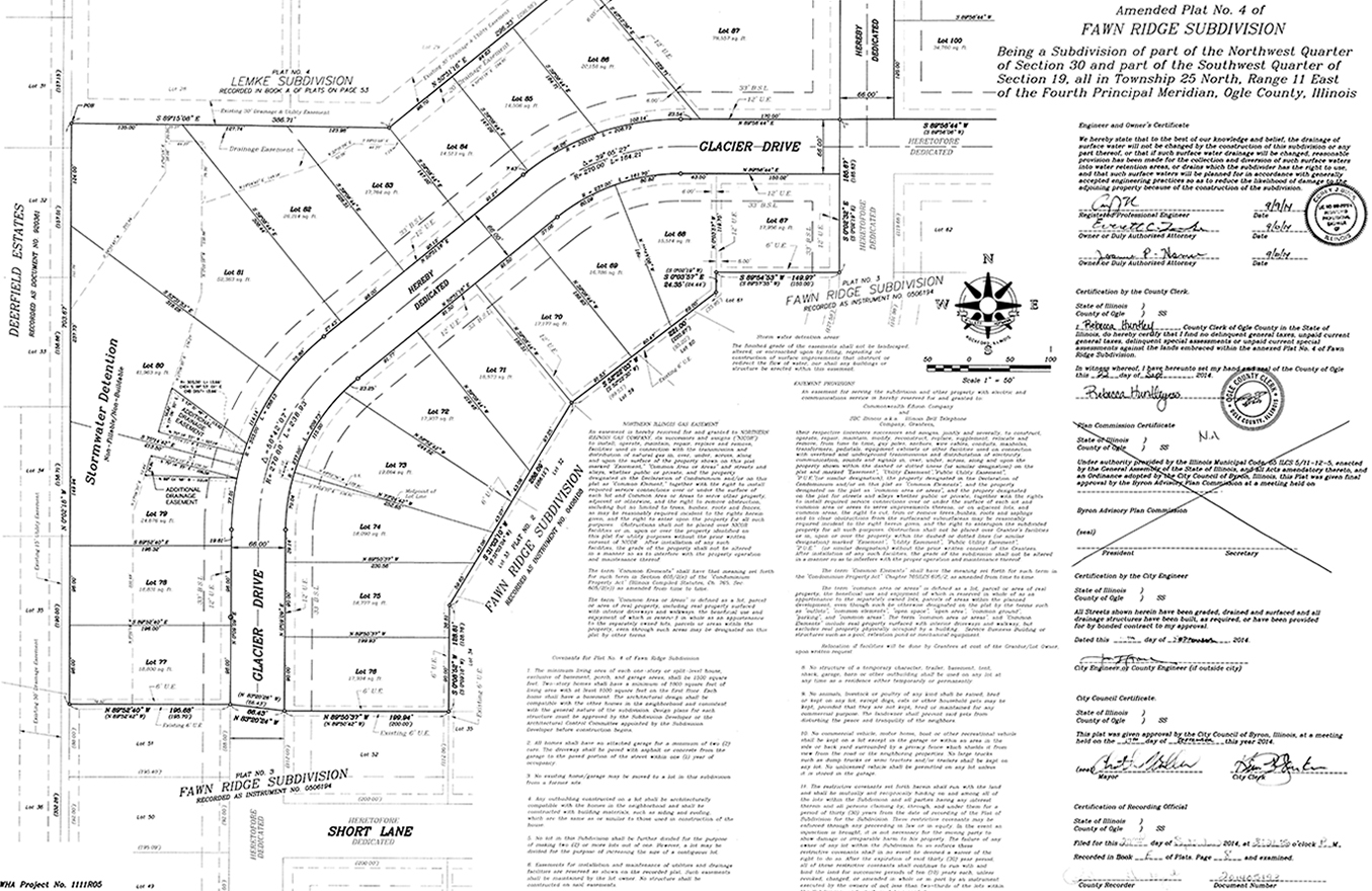 Subdivision Surveys