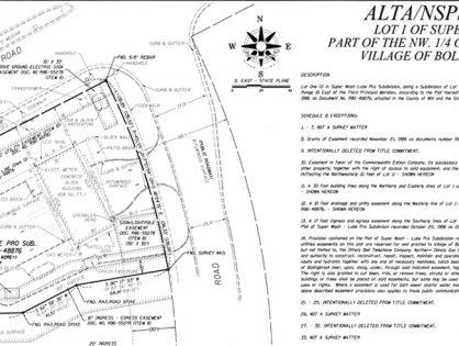 ALTA/NSPS Land Title Surveys